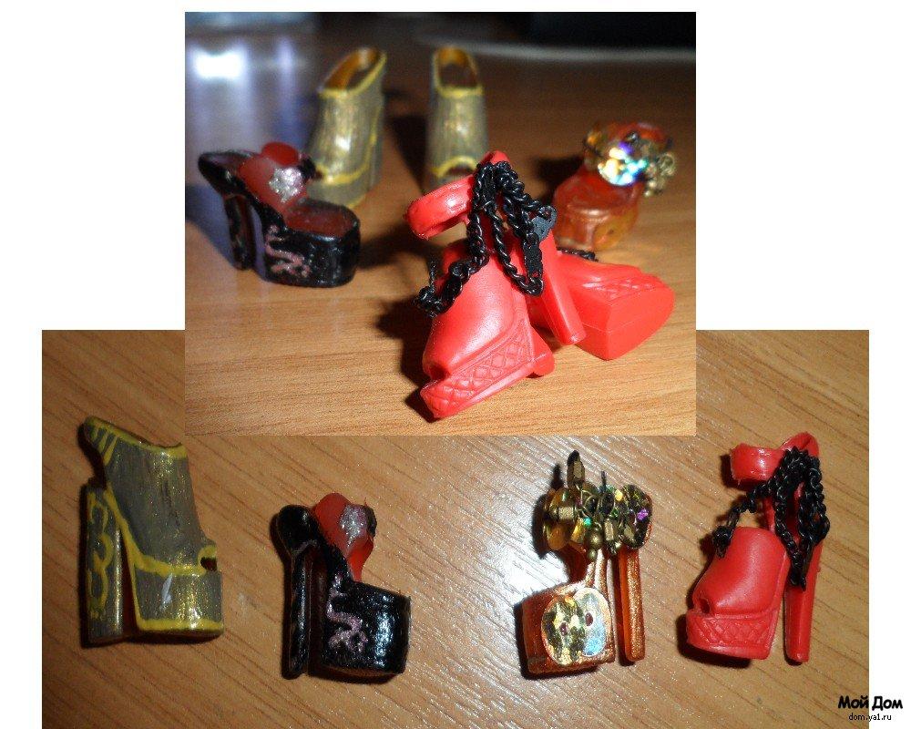 Обувь для куклы барби сделать своими руками фото 749