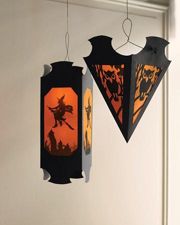 """Зловещие фонари для Хэллоуина. Бесплатные шаблоны. """" Мой дом. Креативные идеи и рецепты для всей семьи."""