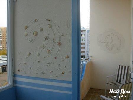 Декор балкона если нет денег