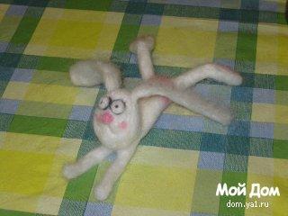 Мои игрушки из войлока