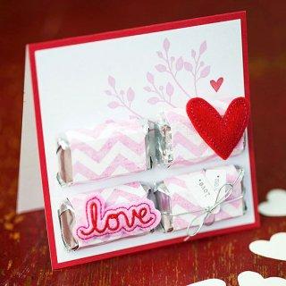 Hand-made открытки ко дню Валентина