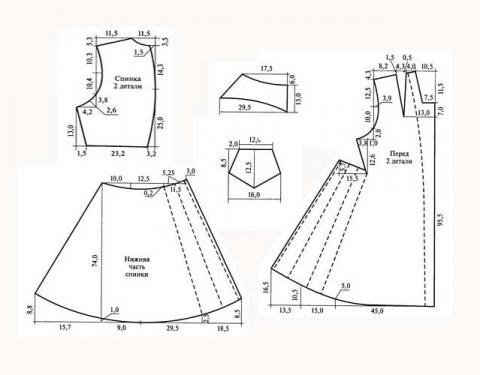 Как сшить якутское платье халадай