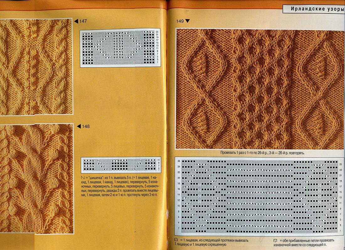 Вязанные жгуты схемы спицами: 32 варианта с. - Вязание 24