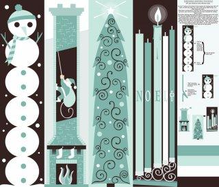 Бесплатные шаблоны рождествеских сапожков