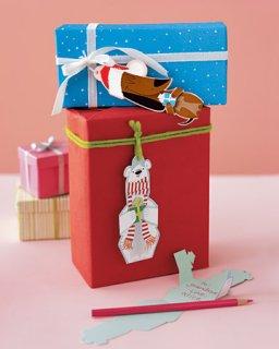 Упаковка подарков. Бесплатные шаблоны.