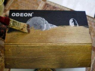 Шкатулка из картонной коробки