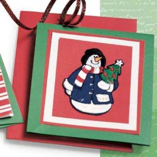 Новогодние открытки сделать сам